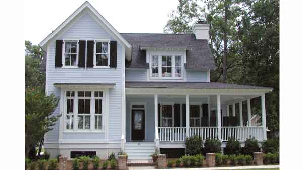Glenview cottage cottage living southern living house for Eric moser farmhouse plans