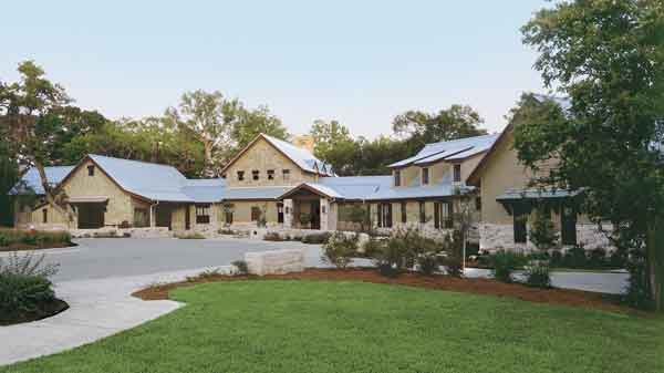 Cedar creek insite architecture inc southern living for House plans with guest houses southern living