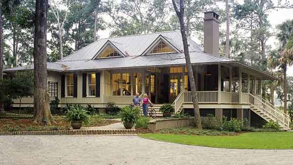 Sunset House Plans | Tidewater/Low Country House Plans