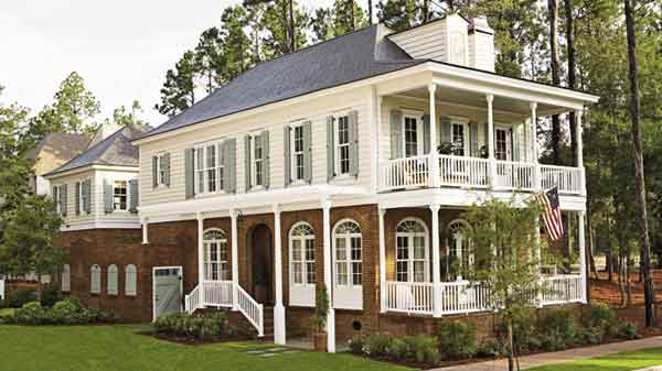 Gulf coast getaway coastal living southern living for Gulf coast cottage plans