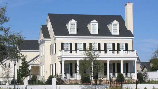 Colonial chase looney ricks kiss architects inc for Colonial homes magazine house plans