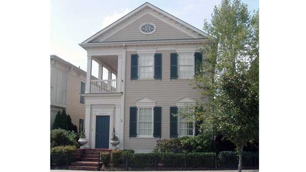 Anson park building science associates southern living for Charleston style house plans