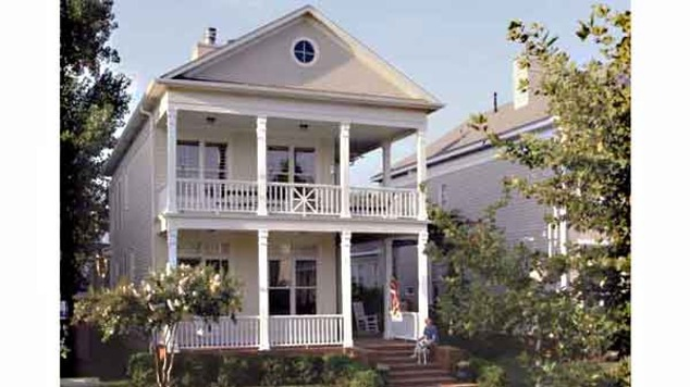 Southern living house plans plantation house plans Southern plantation house plans