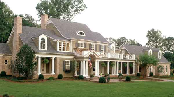 Type of house southern living house plans for House plans with guest houses southern living
