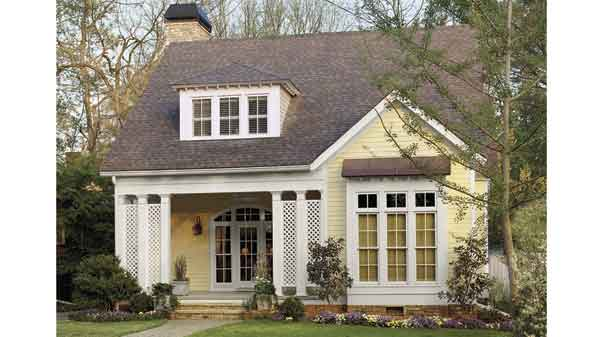 Cotton hill cottage hector eduardo contreras southern for Cabin house plans with photos