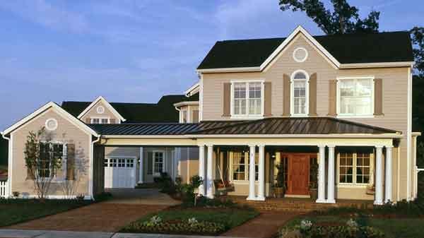 Woodleaf The Evans Group Sunset House Plans