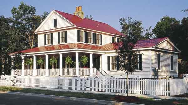 Shelbourne creek cottage duany plater zyberk co Sunset house plans