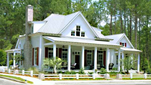 Cottage of the year coastal living sunset house plans Coastal living floor plans