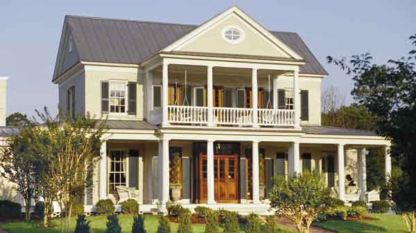 Newberry park allison ramsey architects inc southern Southern plantation house plans