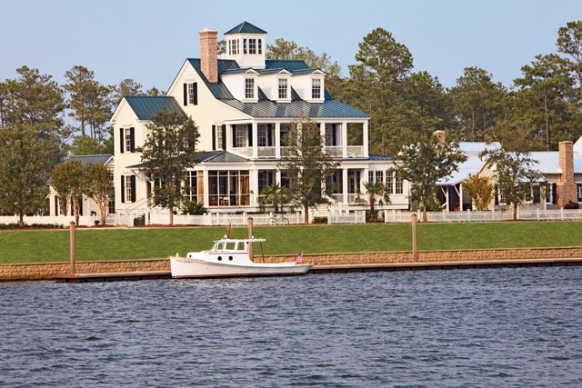 Captain 39 s watch coastal living southern living house plans for Beach house plans southern living
