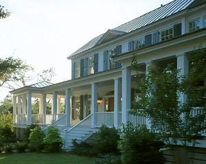 Carolina island house coastal living print southern for Coastal carolina home plans