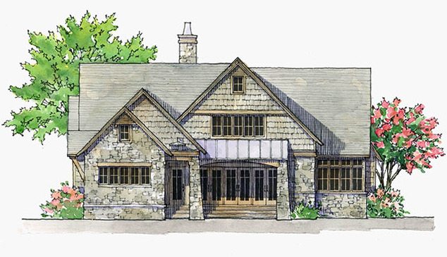 arts crafts house plans