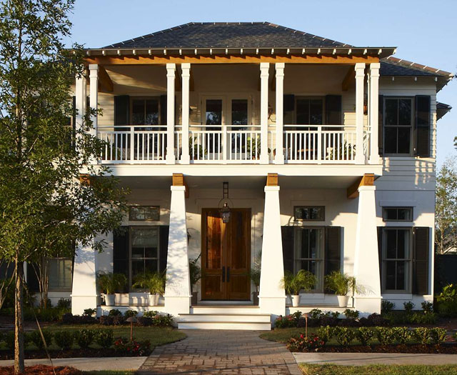 Bayou Bend Piazza Architecture And Planning Southern