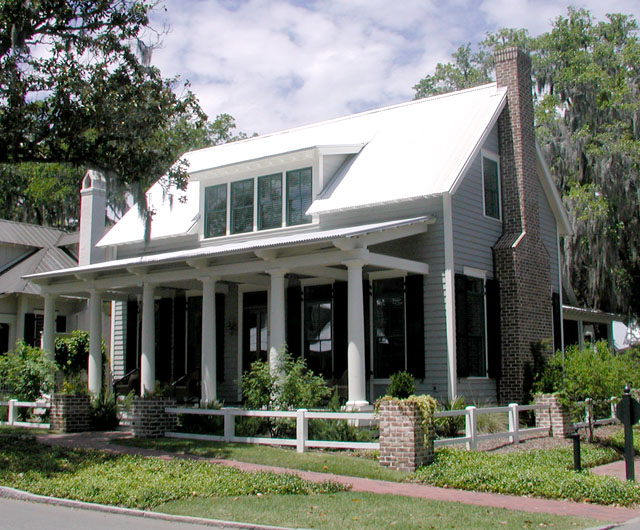 Lowcountry cottage cottage living southern living for Southern house plans with photos