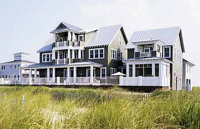Tidewater landing coastal living print coastal for Tidewater style homes