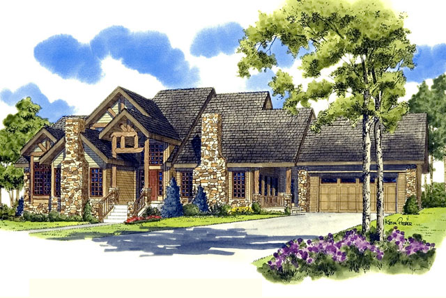 Colter Ridge Sunset House Plans