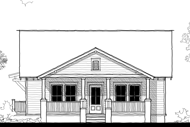 New Street Bungalow Sunset House Plans