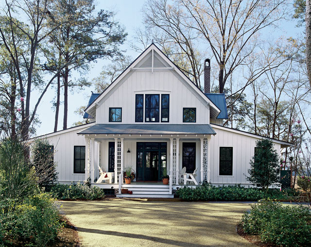 White plains southern living house plans for Southern house plans with photos