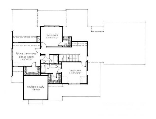 Stone Creek Mitchell Ginn Print Southern Living House Plans