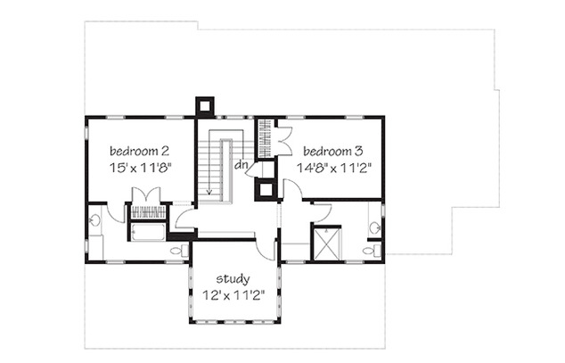 Vintage lowcountry print southern living house plans for Lowcountry home plans