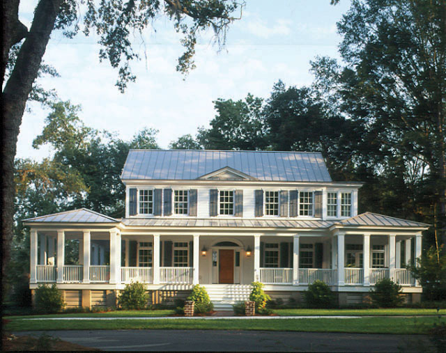New carolina island house southern living house plans for House plans with guest houses southern living
