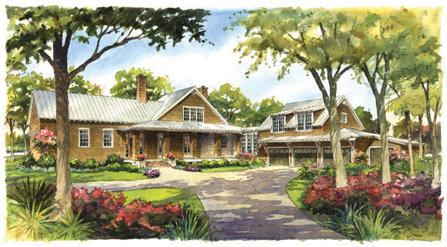 River house southern living house plans for River home plans