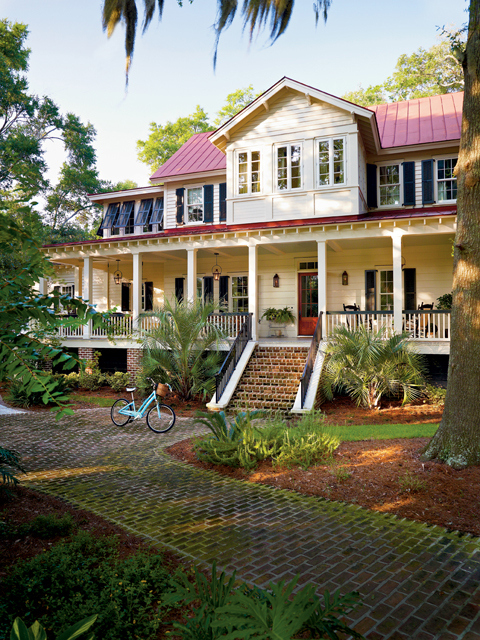 Vintage lowcountry southern living house plans Lowcountry house plans