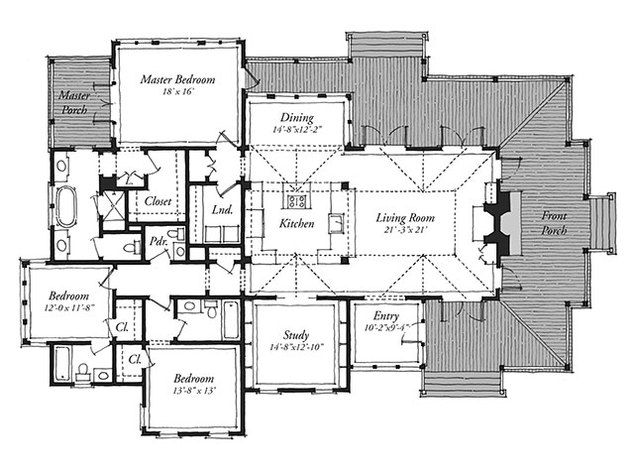 New Tideland Haven Print Southern Living House Plans
