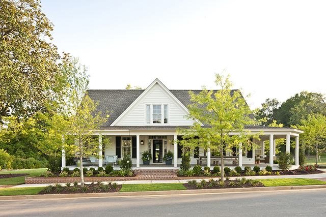 Farmhouse revival southern living house plans Southern farmhouse plans