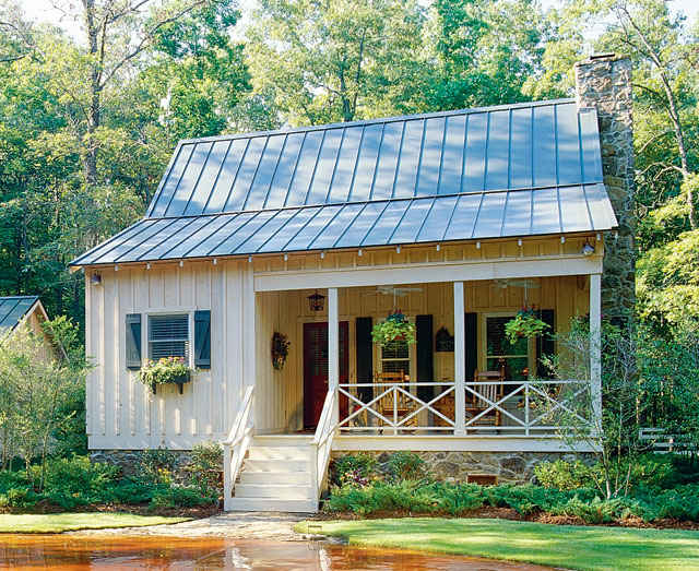 Hunting Creek William H Phillips Southern Living House Plans: cabin house plans