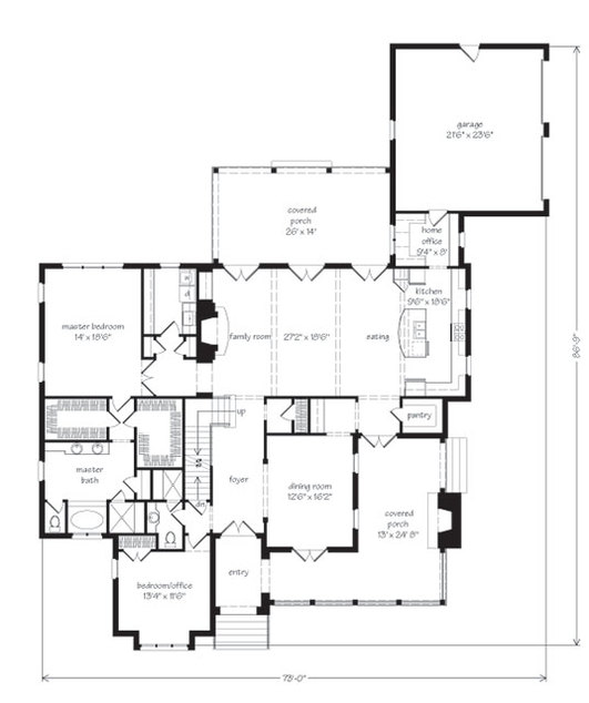 Floor plans southern living 28 images southern living for Southern living cottage floor plans