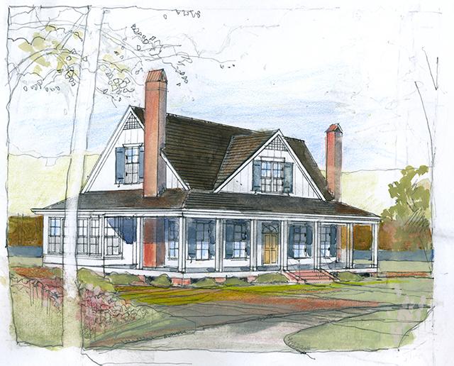 brandon hall southern living house plans
