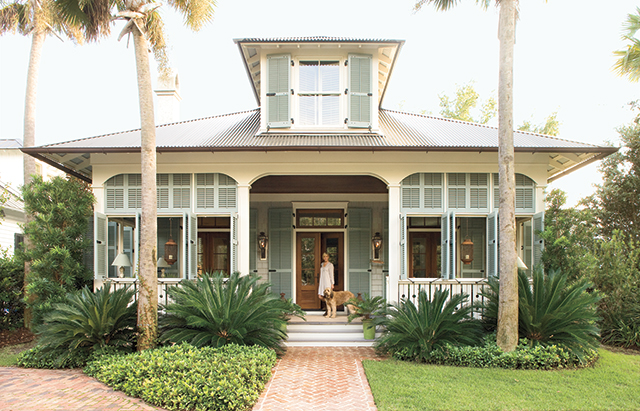 Aiken street southern living house plans for Coastal cottage style homes