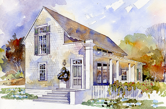 Rosebud Cottage Southern Living House Plans