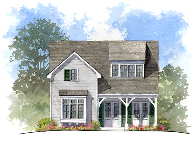 The Hickory Sunset House Plans