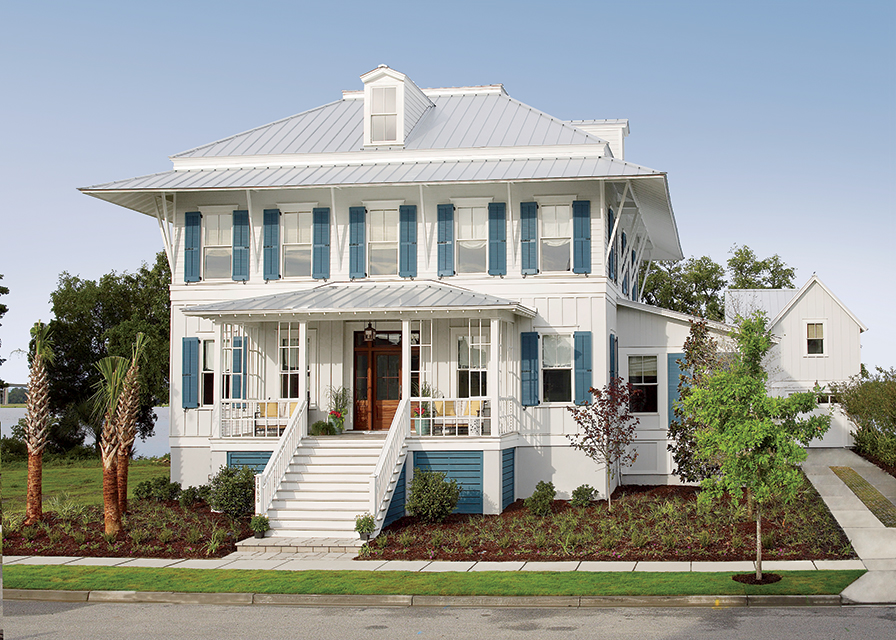 2013 coastal living showhouse southern living house plans for Coastal living house plans