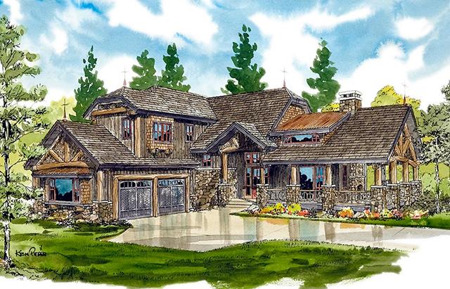 Lake james southern living house plans for Lake house plans southern living