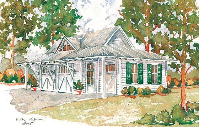 Southern living house plans low country house plans for Southern low country home plans