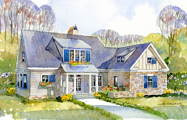 Sugar Hill Sunset House Plans