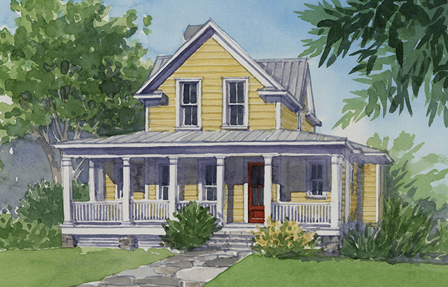 Sweetbay cottage southern living house plans Four gables house plan