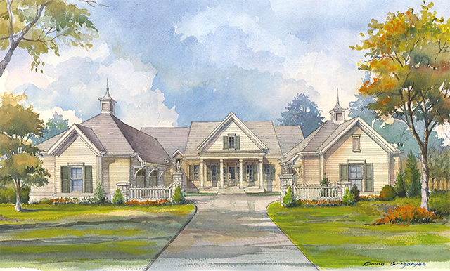 Grove Manor Sunset House Plans