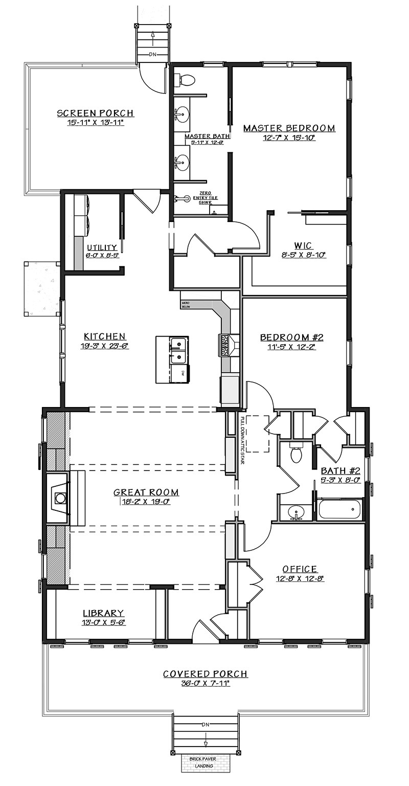 Old Bethel - | Southern Living House Plans