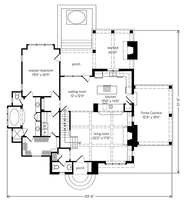romantic cabin floor plans. Plan Details Honeymoon Cottage  Mitchell Ginn Southern Living House Plans