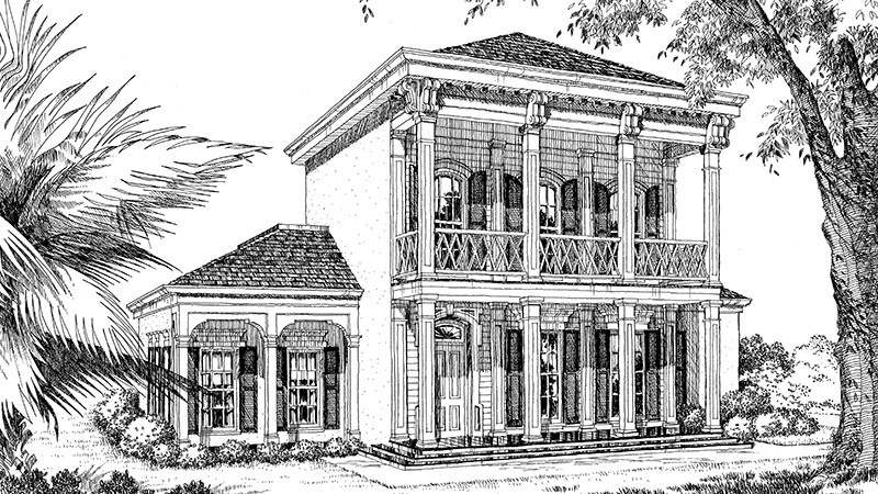 SL111 Garden District Front Rendering