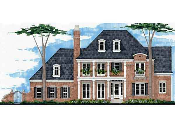 Oak glen gary ragsdale inc southern living house plans for Southern living house plans with keeping rooms