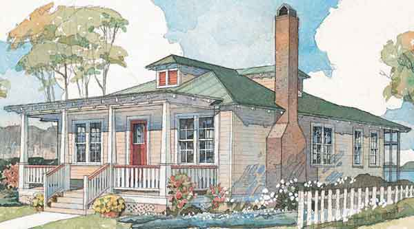 Carolina craftsman coastal living coastal living house for Carolina cottage house plans