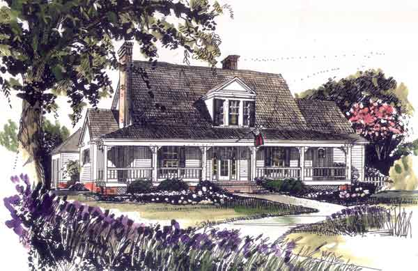 sl 069 - Farmhouse Plans Southern Living