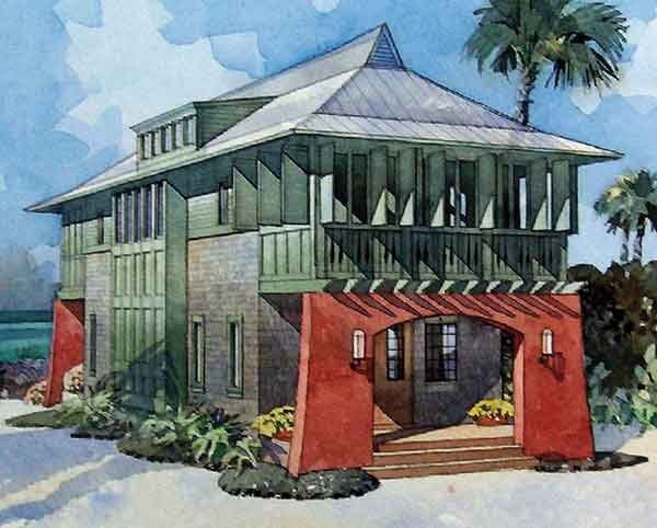 Southern coastal house plans