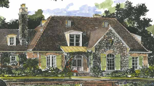 sl 1002 - French Country House Plans
