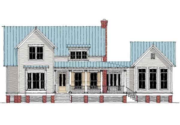 Westbury Park - Moser Design Group | Southern Living House Plans